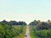 Heuvelige weg Cuba